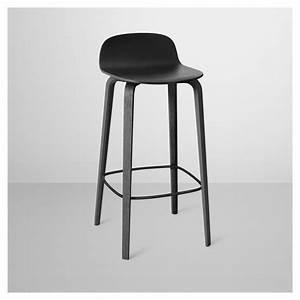 Chaise De Bar Bois : visu tabouret de bar en bois chaise de bar muuto ~ Dailycaller-alerts.com Idées de Décoration