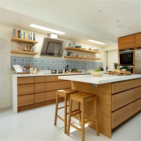 Modern Oak Kitchen  Ideal Home