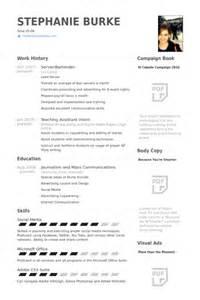 high resume with no work experience serveur barman exemple de cv base de données des cv de visualcv