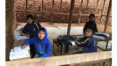 Poverty Children Living Education