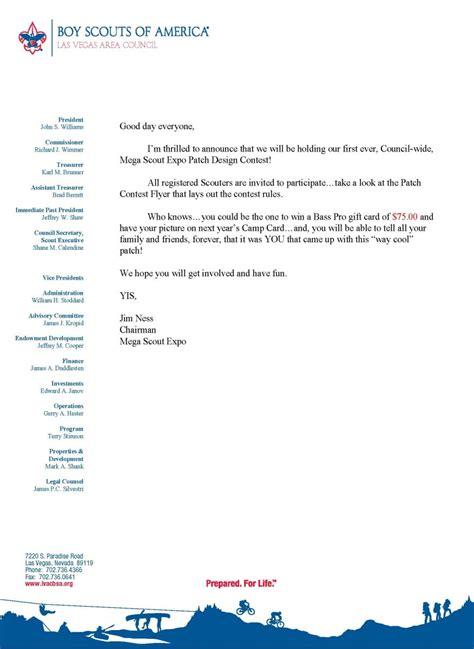 beautiful cub scout letterhead template