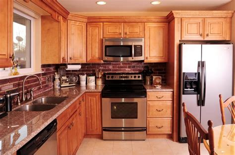 honey maple cabinets with granite countertop sewell nj