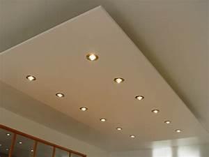 Installer Spot Plafond Existant : devis plafond suspendu gratuit ~ Dailycaller-alerts.com Idées de Décoration