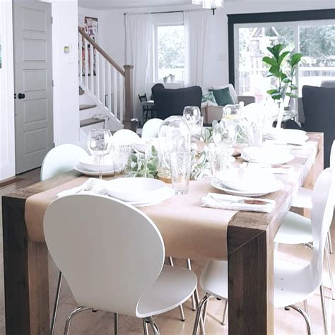 simple  easy thanksgiving table
