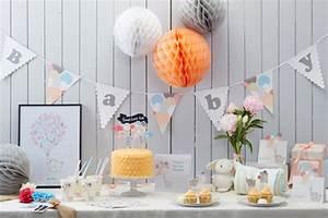 Babyparty Deko Neutral Baby Shower Party Id Es De D Co Et De