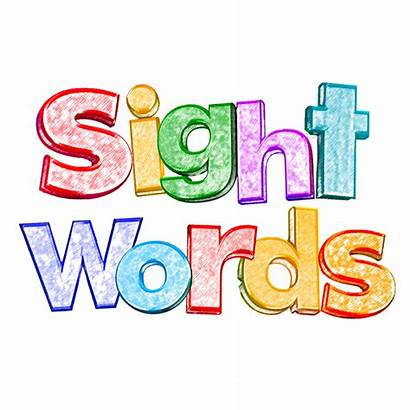 Sight Words Word Clipart Clip Apps Frequency