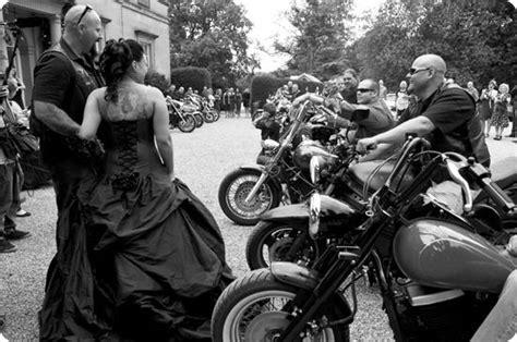 Biker Chic, A Real Wedding