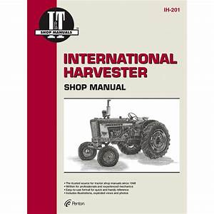 International Harvester Service Manual 280 Pages  Manual