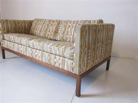 kroll furniture boris kroll fabric loveseat at 1stdibs