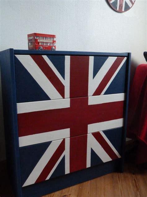 decoration anglaise pour chambre décoration chambre drapeau anglais