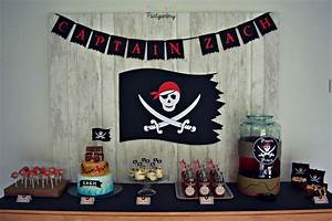 Deco Anniversaire Pirate : anniversaire pirate ~ Melissatoandfro.com Idées de Décoration
