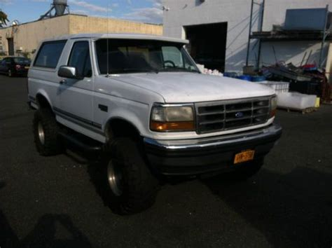 old car repair manuals 1992 ford f250 seat position control buy used 92 bronco xlt manual in mastic beach new york united states for us 3 600 00