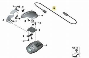 Bmw K1600gt K1600 Bagger Led Spotlight Wiring Adapter