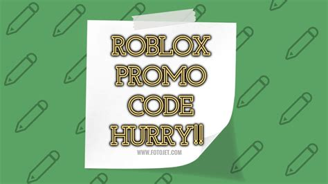roblox promo code  expired hurry  september june