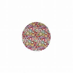 Tapis Rond Rouge : tapis fleury rond rouge missoni home d co en ligne tapis ~ Teatrodelosmanantiales.com Idées de Décoration