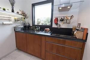 modele de cuisine moderne le bois chez vous With modele cuisine bois moderne