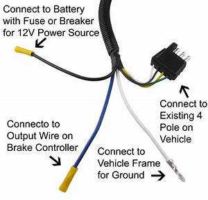 Adapter 4 Pole To 6 Pole Tow Ready Wiring 30637