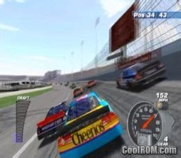 nascar dirt to daytona rom iso download for sony playstation 2 ps2 coolrom com