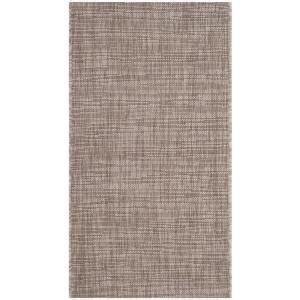rugs for kitchen floors safavieh courtyard light brown 2 ft x 4 ft indoor 4951