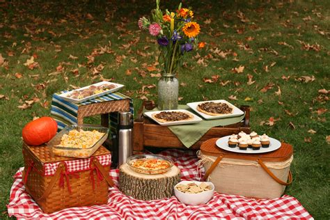 picknic food autumn picnic in the park whole green love