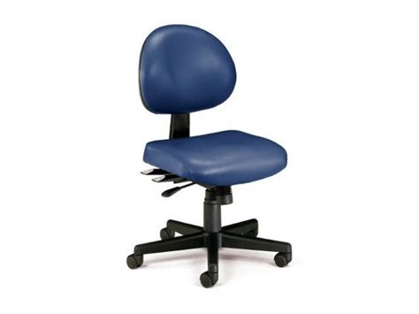 Office Chairs Vinyl Covering by Vinyl Multi Shift Task Chair Ofm 241v Computer Chairs