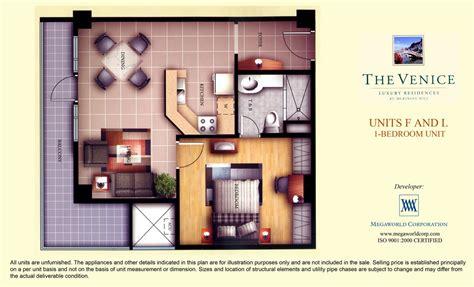 1 Bedroom Unit Rental by Units F And L 1 Bedroom Unit Megaworld Condominiums