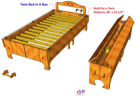 twin folding bed  bed   box
