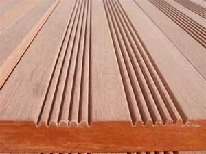 Bois Exotique Pour Terrasse : photos lames de terrasse bois exotique prix pas cher kapur ~ Dailycaller-alerts.com Idées de Décoration