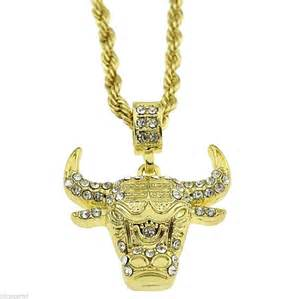 Iced Out Gold Chains Pendants