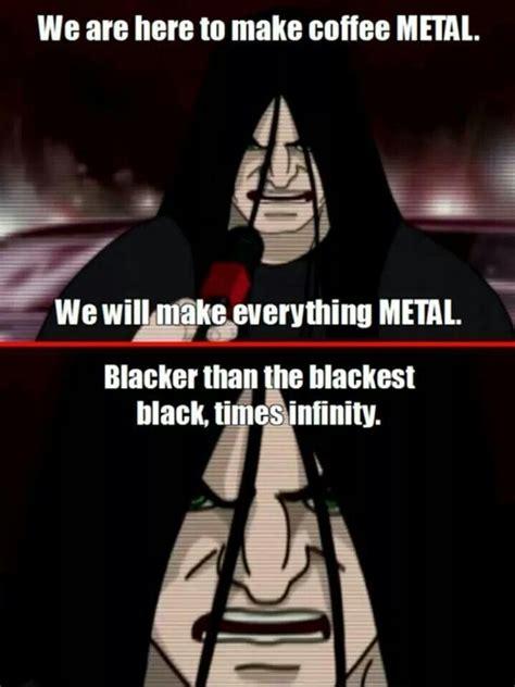 Metalocalypse Memes - metalocalypse dethklok make everything metal lulladies slaughter pinterest metalocalypse
