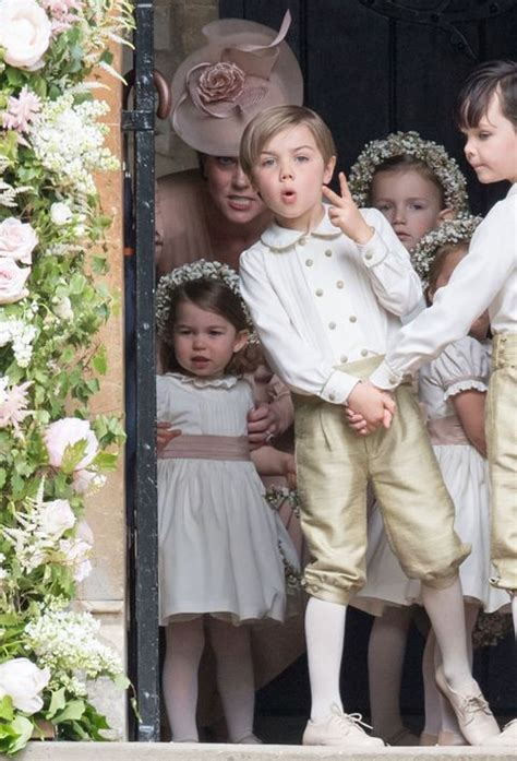 prince george crying  pippa middletons wedding