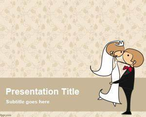 free wedding powerpoint template With wedding invitations ppt free download