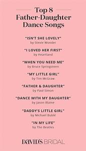 Best Father-Daughter Dance Songs - David's Bridal Blog