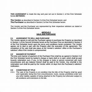 Free Partnership Agreement Contract 17 Sample Land Purchase Agreement Templates To Download