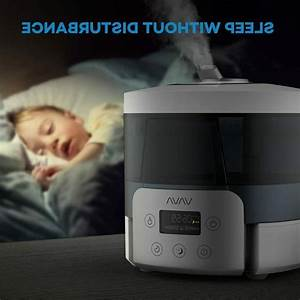 Top Fill Ultrasonic Cool Mist Humidifiers Safe Dry