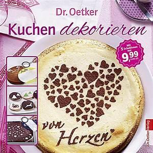 Deko Für Kuchen : dr oetker kuchen dekorieren m 5 deko schablonen buch ~ Buech-reservation.com Haus und Dekorationen