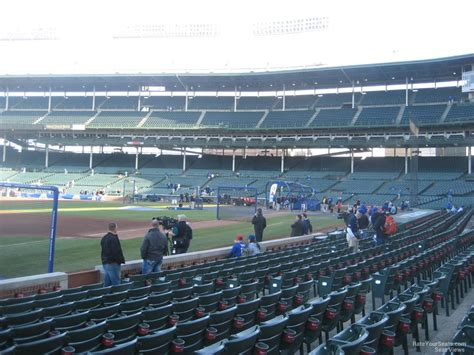 number for section 8 wrigley field section 8 chicago cubs rateyourseats