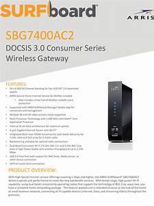 Arris Sbg7400ac2 Mcafee Touchstone Dg3260a User Manual