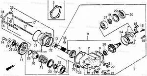 Honda Motorcycle 1984 Oem Parts Diagram For Cross Shaft