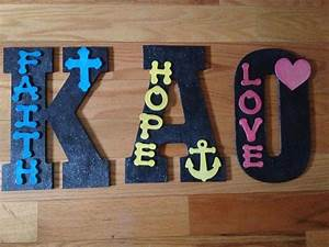 sorority craft kappa alpha theta wood letters crafts by With theta chi wooden letters