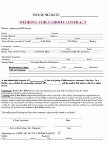 wedding planner printable wedding planner contract agreement With how to make a wedding photography contract