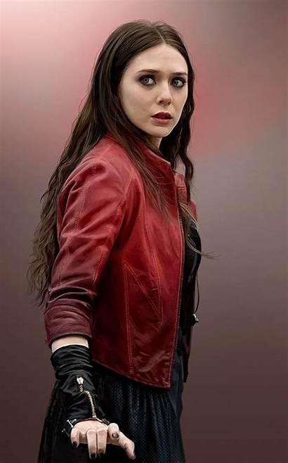 Scarlet Witch Wanda Maximoff Marvel Olsen Elizabeth