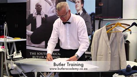 Valet Service Laundry by Laundry Valet Service Butler Training Youtube