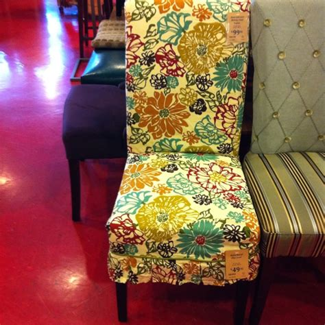 pier 1 floral slipcover and adelaide dining chair
