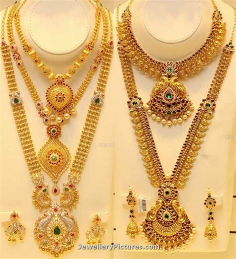checkout joyalukkas gold designs collection featuring haram designs in gold and necklace