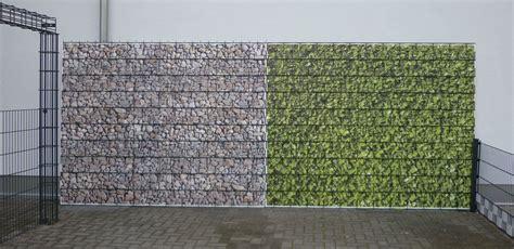 Alternative Zum Zaun by G 252 Nstige Alternative Zum Sichtschutzzaun Steinwandsystem