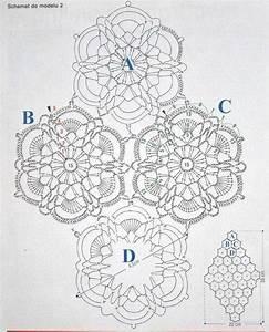 Floral Diamond Table Runner  U22c6 Crochet Kingdom