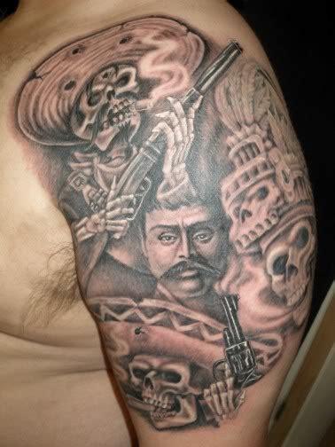 mexican design tattoos