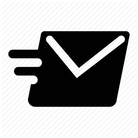 email envelope icon png email envelope fast mail message send icon