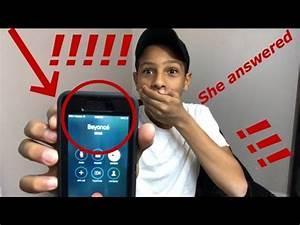 Beyoncé's Real Phone Number - YouTube